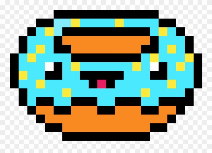 Donuts Koro Sensei Pixel Art Clipart 3789088 Pinclipart