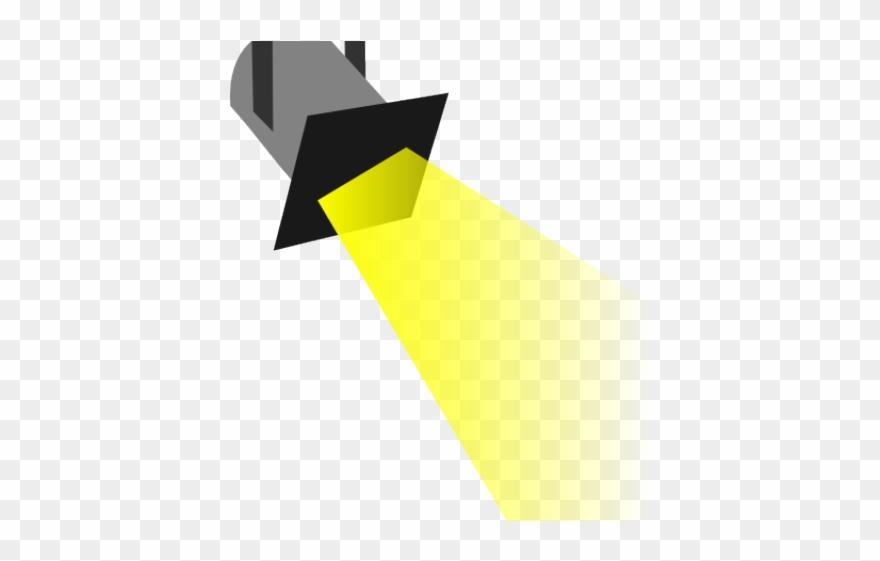 Spotlight light. Disco clipart spotlights spot