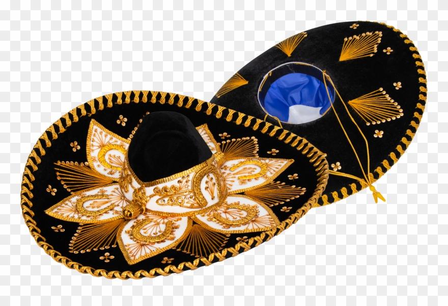 Genuine Sombrero Adult Mariachi Sombrero Charro Hat - Motif Clipart