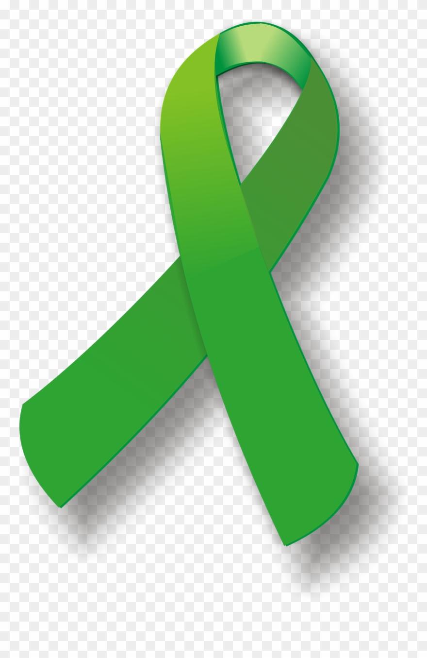 Mental Health Awareness Ribbon Transparent Background ...