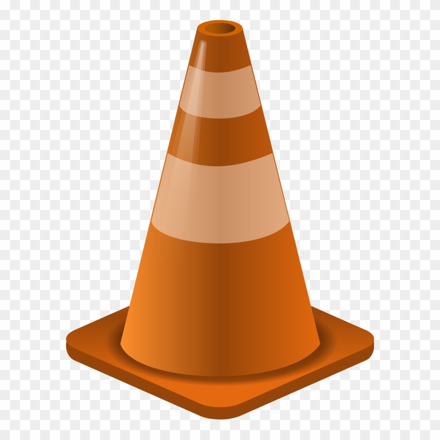 Construction Cone Clip Art Download - Cone Construction - Png Download