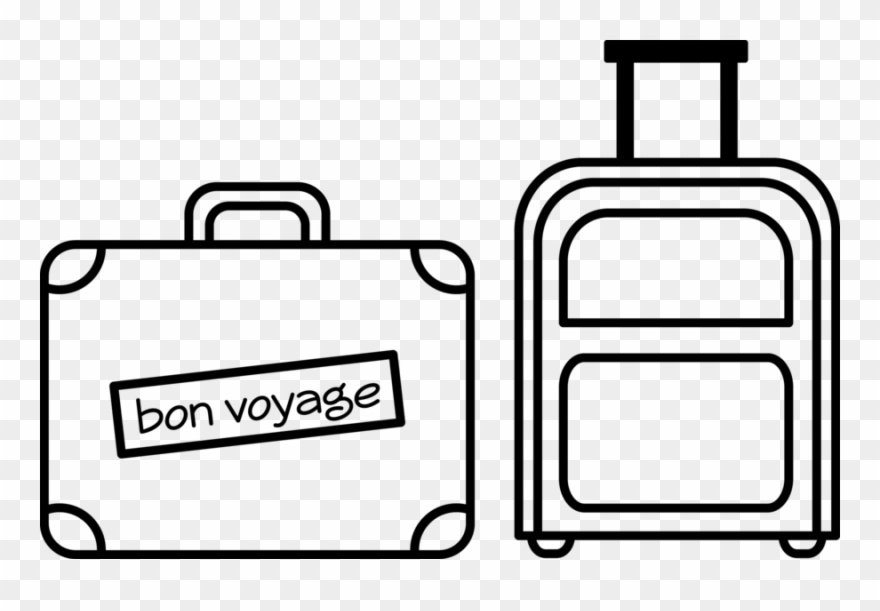 Easy Suitcase Drawing Clipart Suitcase Paper Drawing , Easy