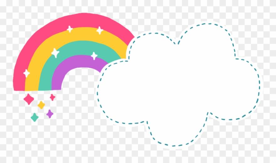 Rainbow Document File Format - Cute Cloud Cartoon Png Clipart