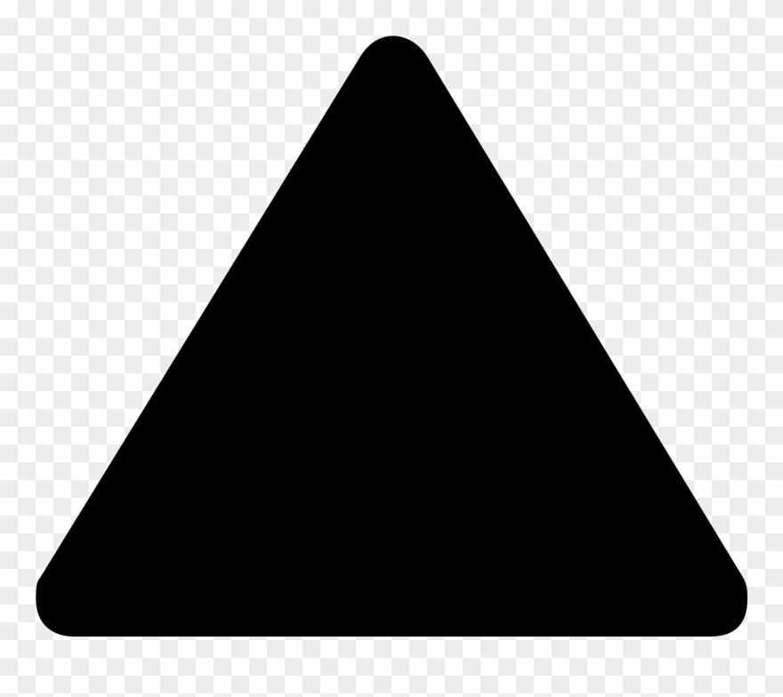 Triangle transparent. Black background clipart pinclipart