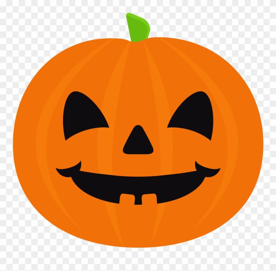 Cute Halloween Pumpkin Clipart 4 - Cute Jacko Lantern ...