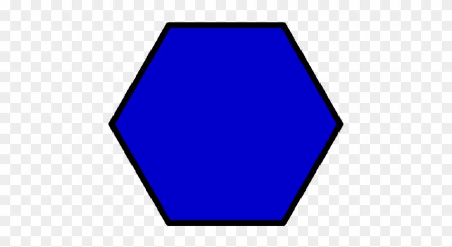 Hexagon Clip Art Clipart - Hexagon Clipart, HD Png Download - vhv
