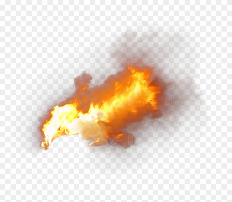 Smoke fire. Flame clipart with png
