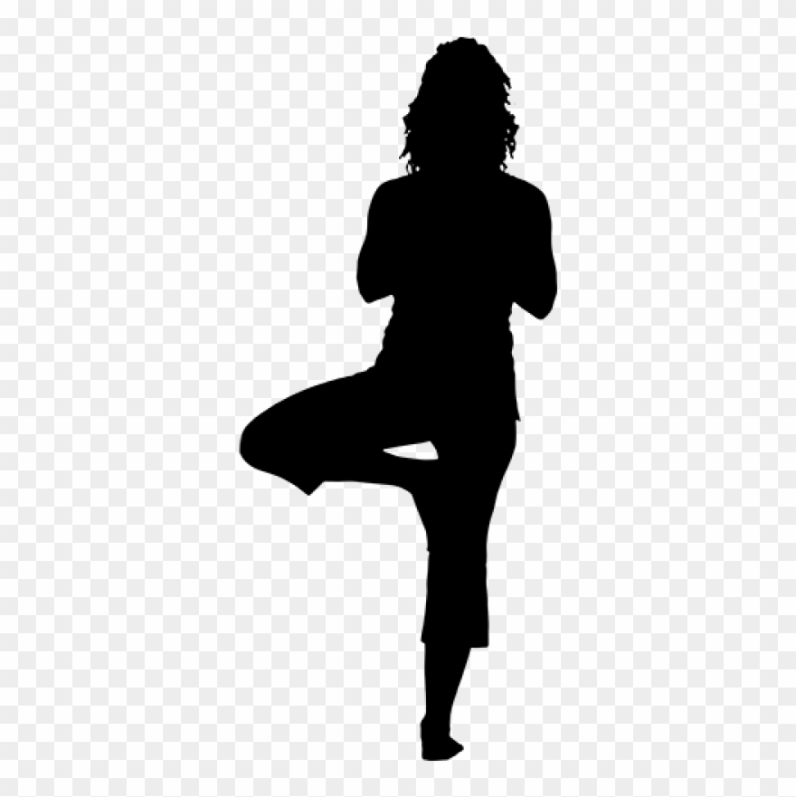 Yoga Png Download Png Image With Transparent Background Woman Silhouette Yoga Clipart 3811107 Pinclipart