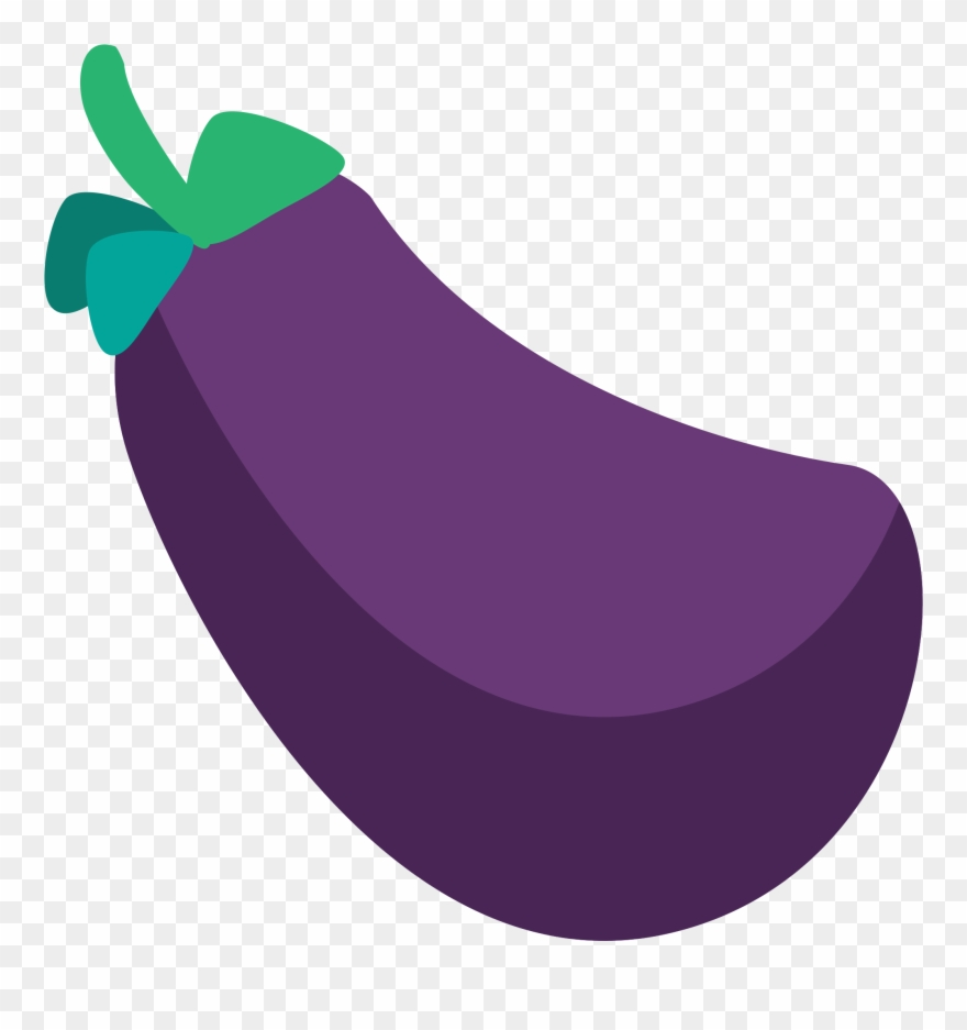 Eggplant Clipart Tree Eggplant Emoji Svg Png Download 3828083
