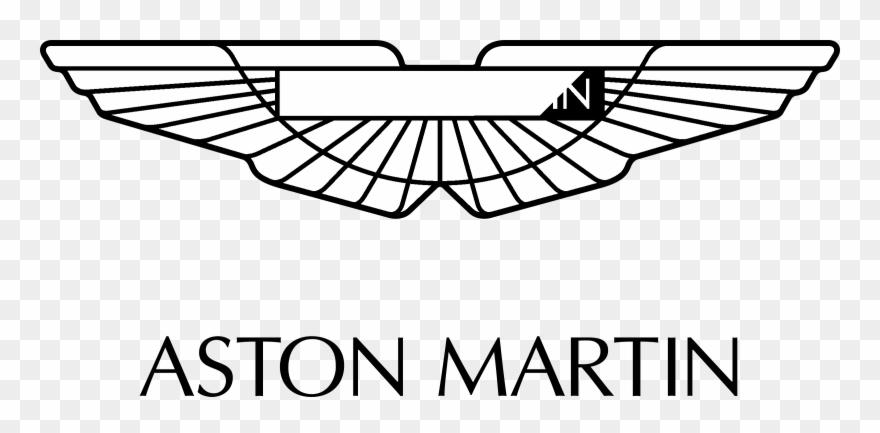 Aston Martin Logo Png Aston Martin Black And White Logo Clipart 3845627 Pinclipart