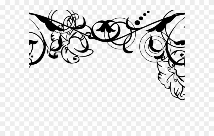 Elegant Invitation Cliparts Wedding Floral Vector Png