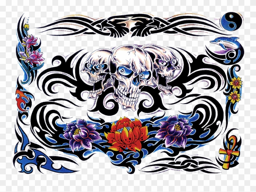 Body Art Clipart Png Transparent Tatto Png Full Color 3848975 Pinclipart