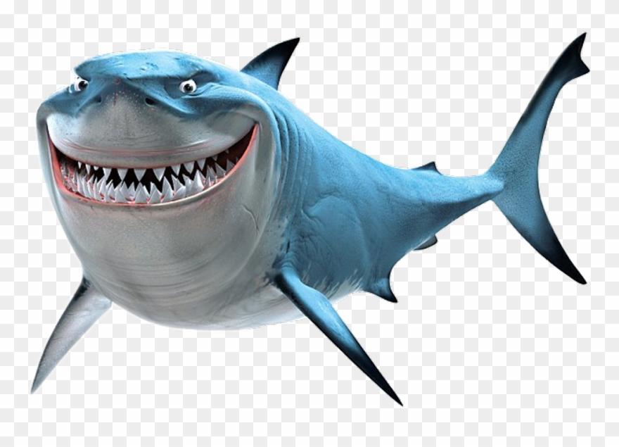 Findingnemo Bruce Shark Scseacreatures - Bruce Shark Clipart