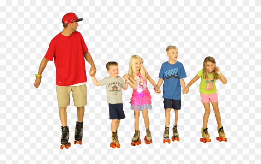 Image Is Not Available Kids Roller Skating Transparent Clipart 3851713 Pinclipart