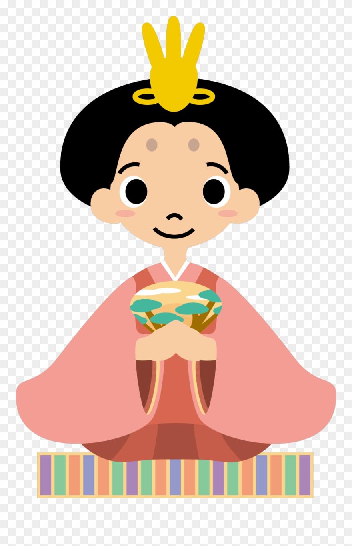 Kokeshi Chinesa Asian Cartoon Clipart