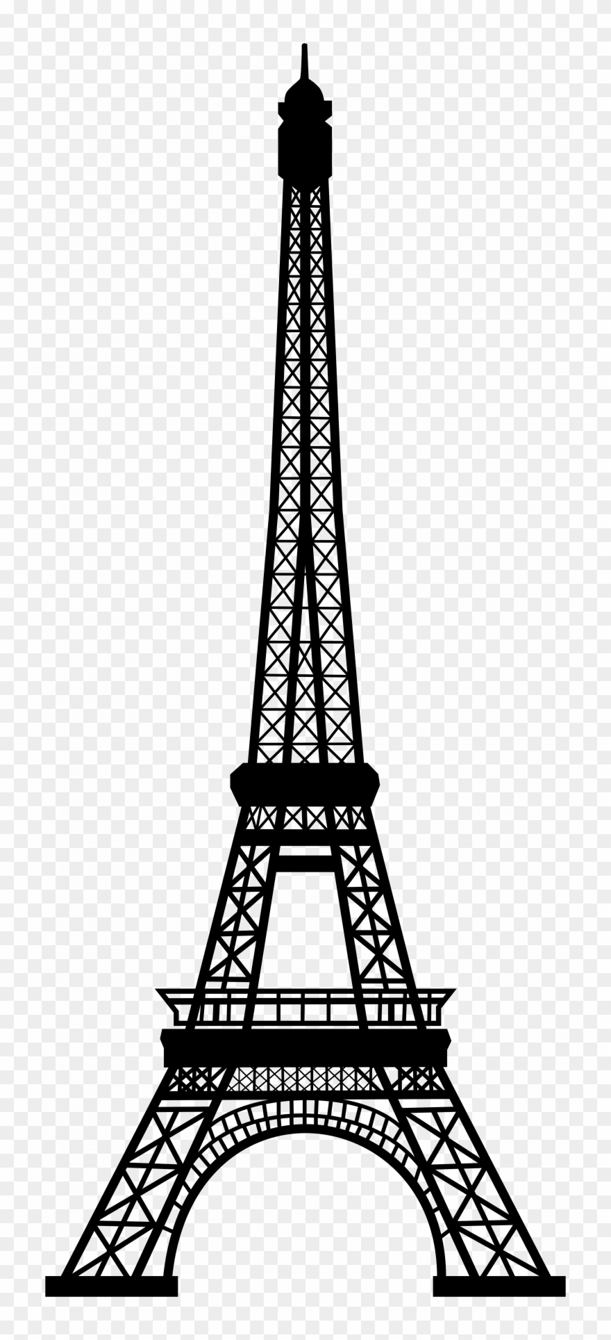 Download eiffel tower clip art eiffel tower pencil sketch png download