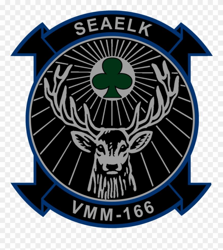 Usmc Vmm-166 Sea Elk Squadron Sticker - Jagermeister Wallpaper Iphone 5 Clipart