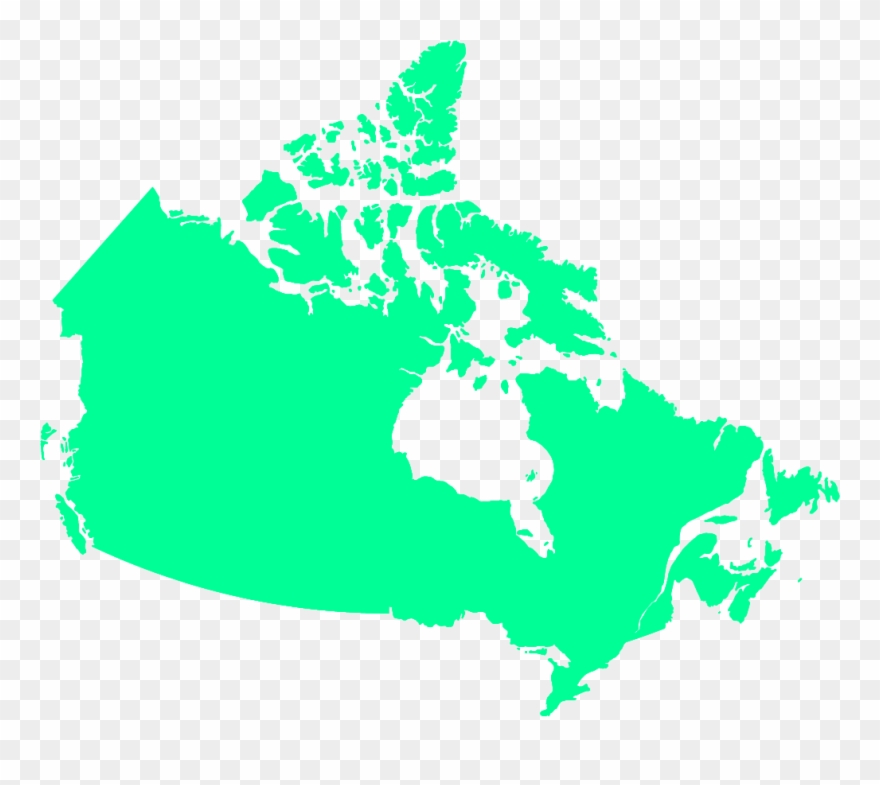 Canada Map Clipart 2012 09 04   Round Goby Canada Map Clipart (#3893099)   PinClipart