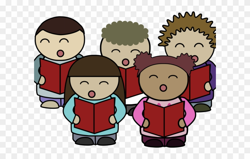Song Clipart Choral Speaking - Choir Singing Clipart - Png ...