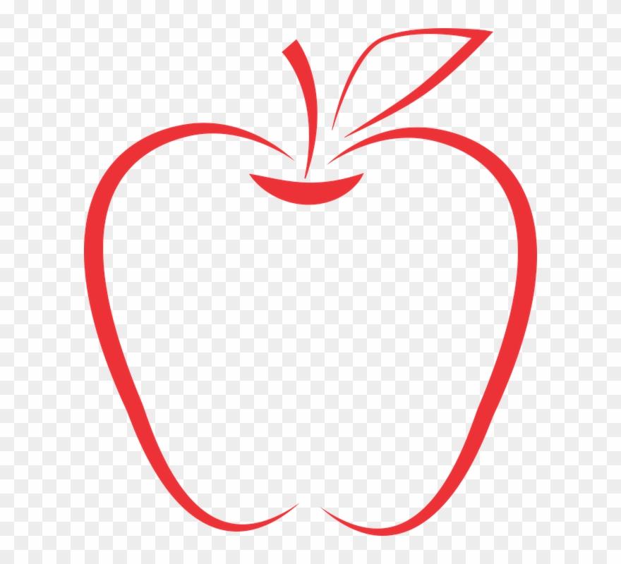 Apple School Days School Teacher Apple Apples Icon ...