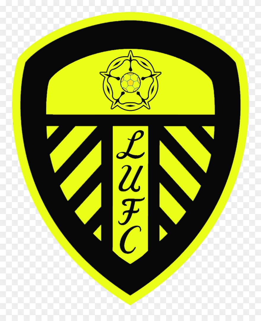 Black Leeds United Badge Clipart 3901447 Pinclipart