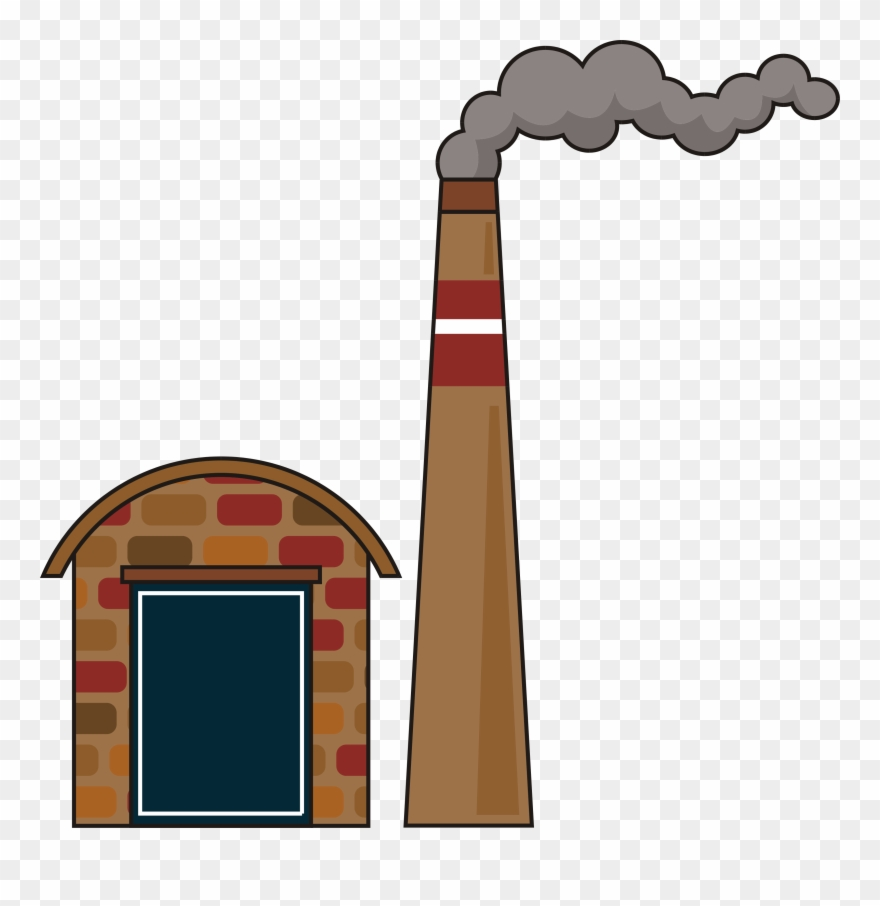 Smoke chimney. Factory png clipart pinclipart