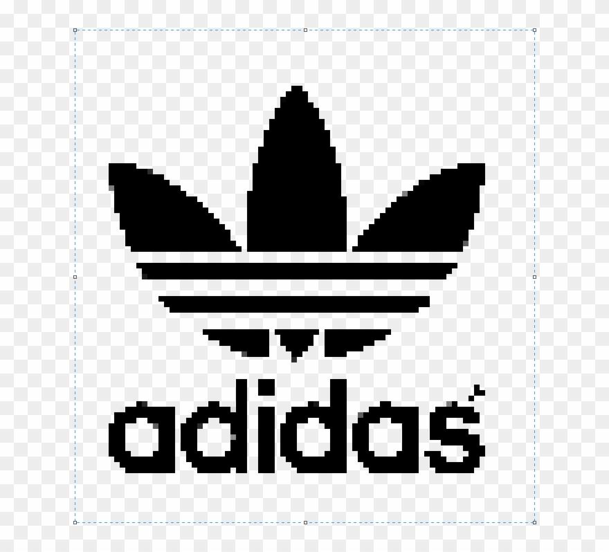 T R A N S P A R E N T Adidas Pixel Made By Me Pixel Art
