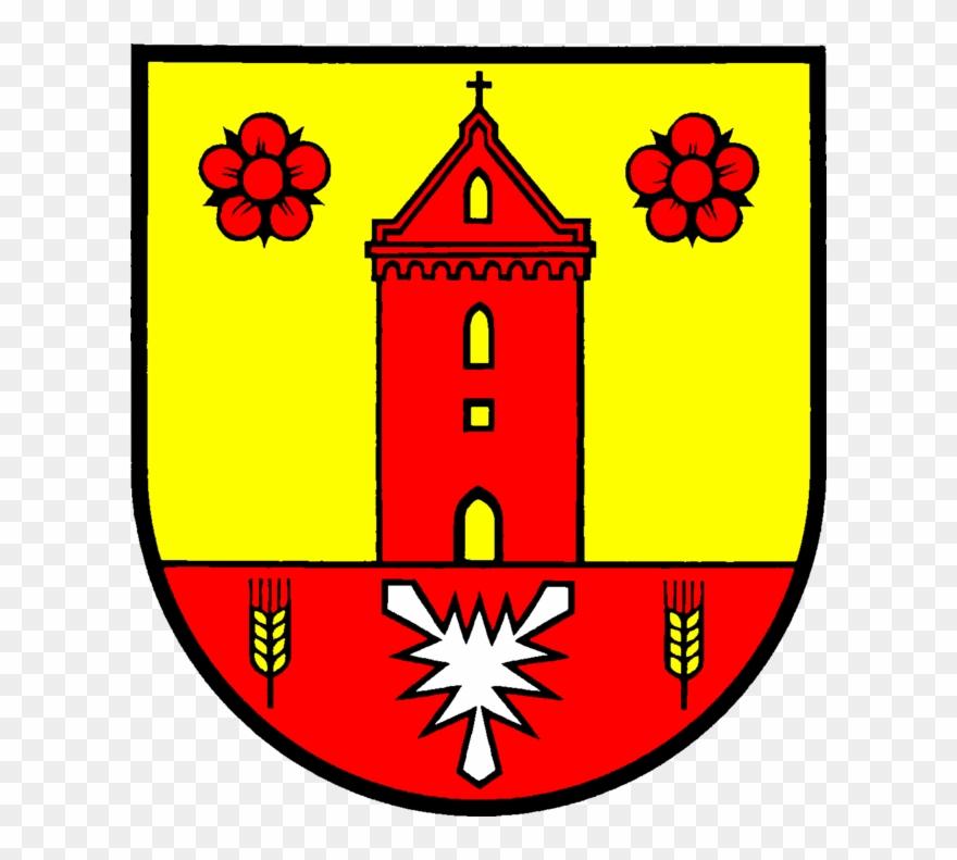 In Schleswig Holstein Germany Wappen Schonkirchen Clipart