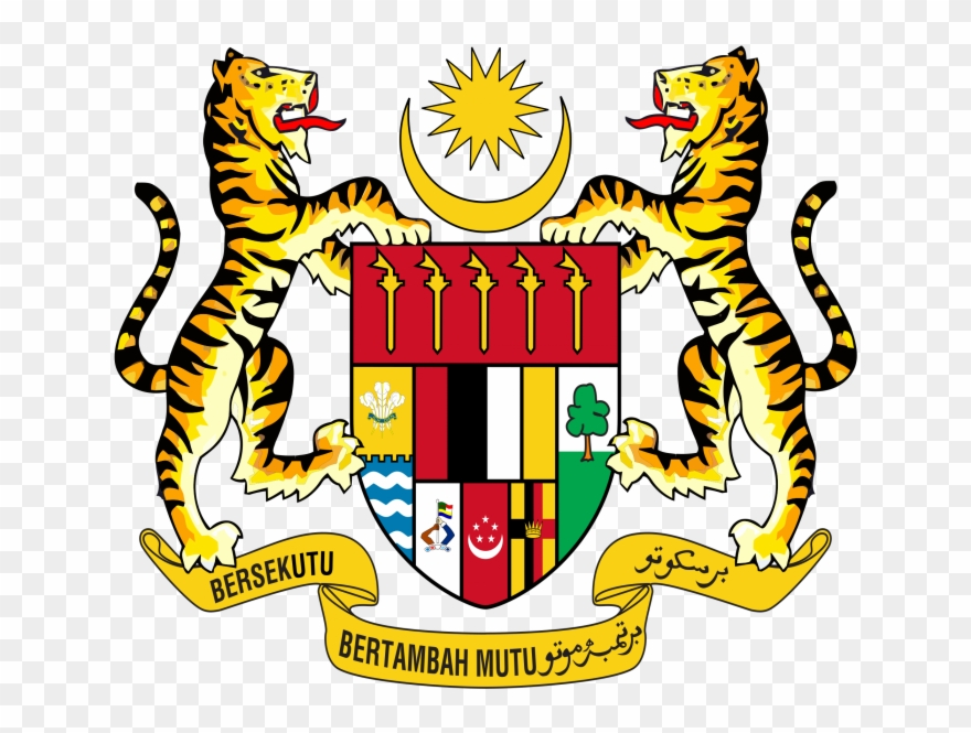 Jata Negara Malaysia Png Coat Of Arms Of Malaysia Clipart Full Size Clipart 3930383 Pinclipart