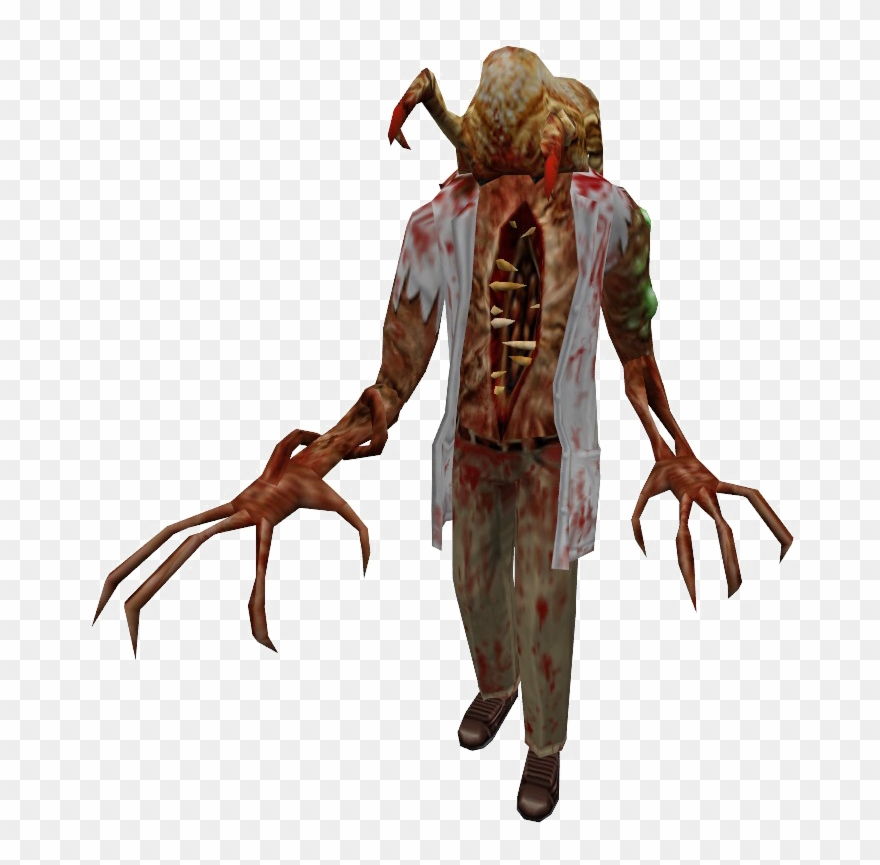 Zombie Png High Quality Image - Half Life Headcrab Clipart