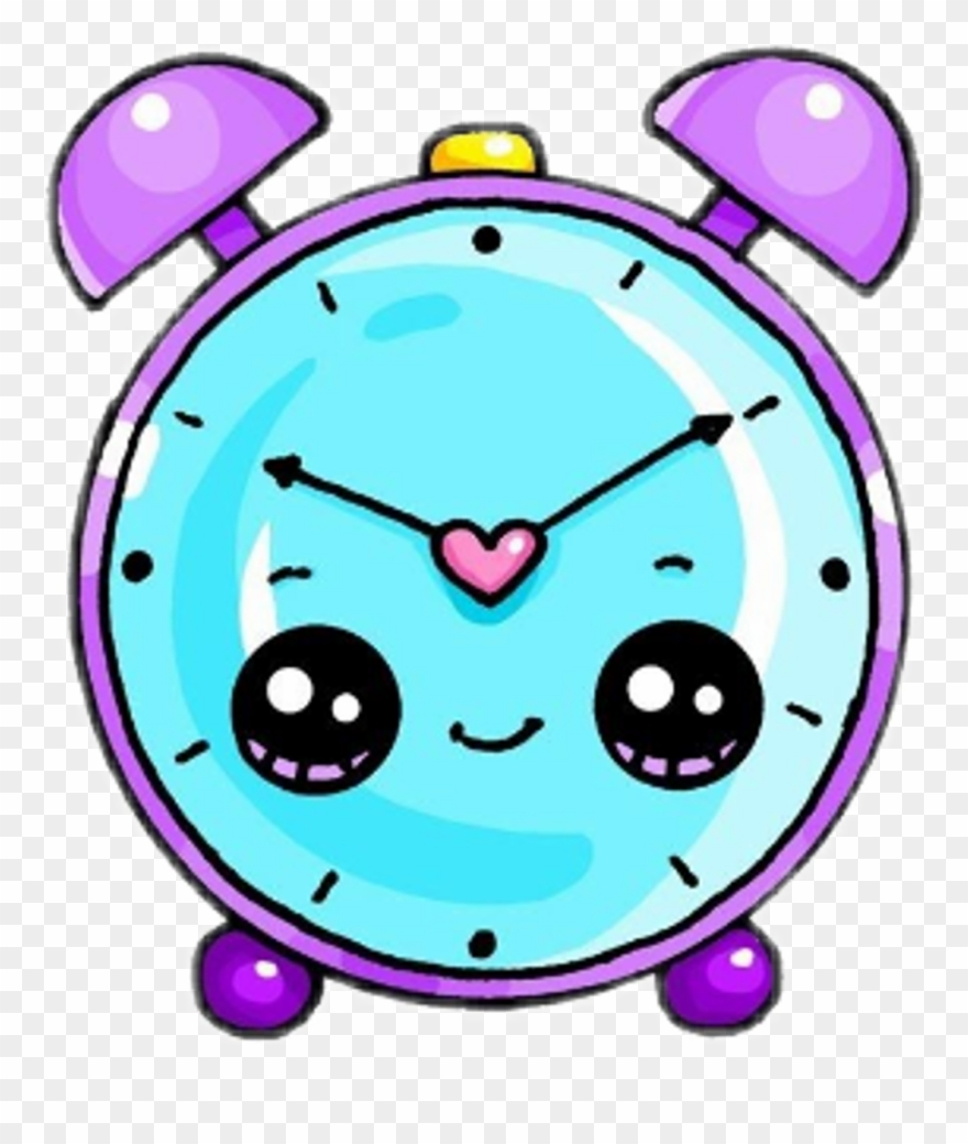 Freetoedit Kawaii Cute Reloj Watch - Alarm Clock Easy Draw ...