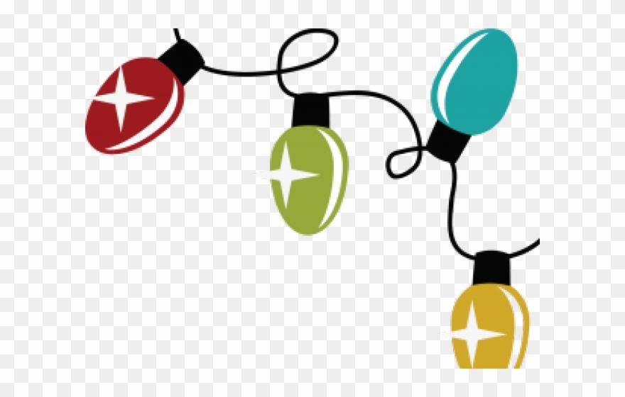 Christmas Light Clip Art.Christmas Lights Clipart Svg Christmas Lights Svg Free