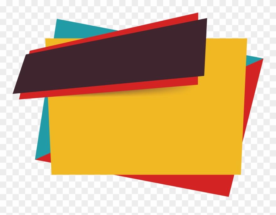 Sales Banner Euclidean Vector Icon - Text Box Banner Vector Png Clipart