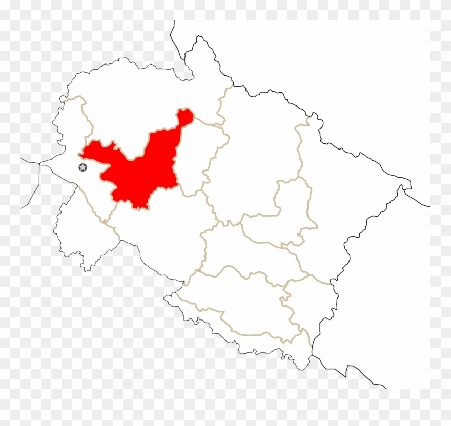 Tehri Garhwal District - Rudraprayag In Uttarakhand Map ...