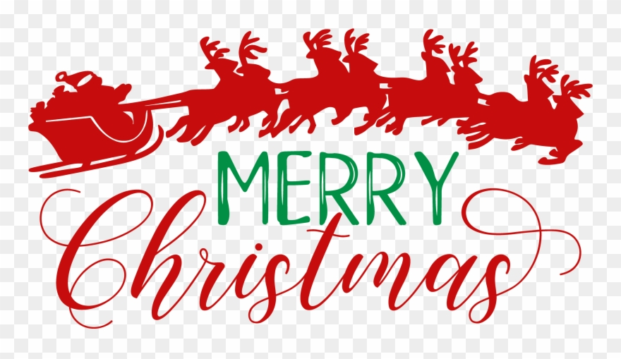 Merry Christmas Svg Free Clipart 3990336 Pinclipart