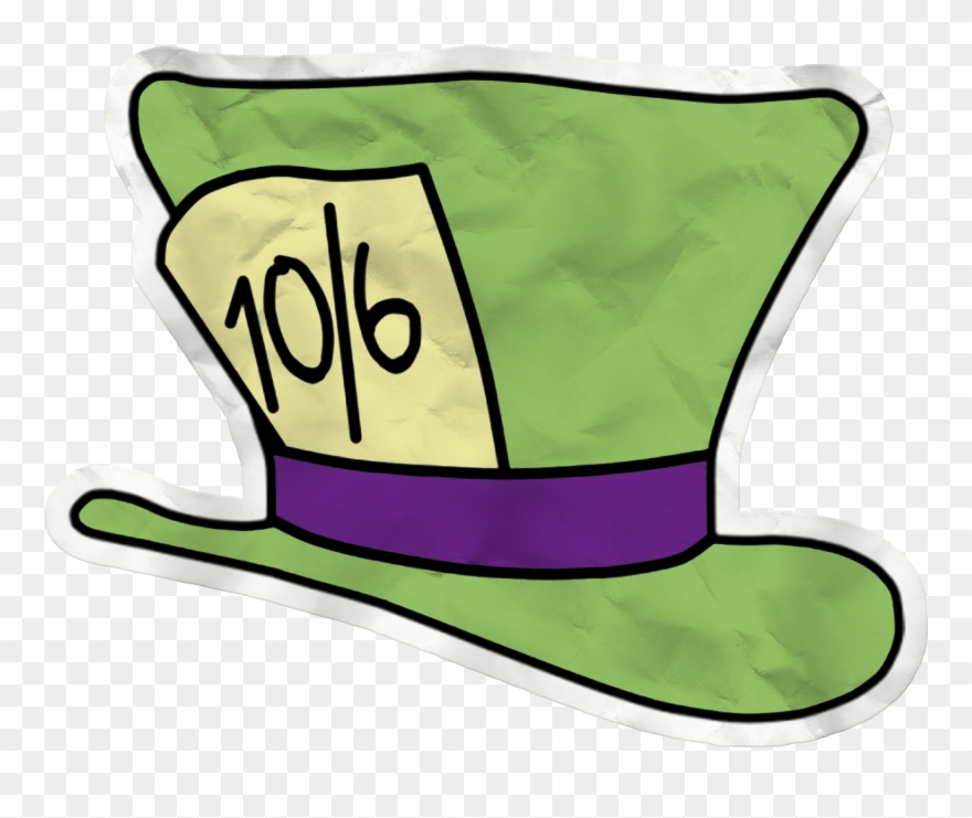The Mad Hatter March Hare Cheshire Cat Clip Art Cartoon Alice In Wonderland Mad Hatters Hat Png Download 3999968 Pinclipart