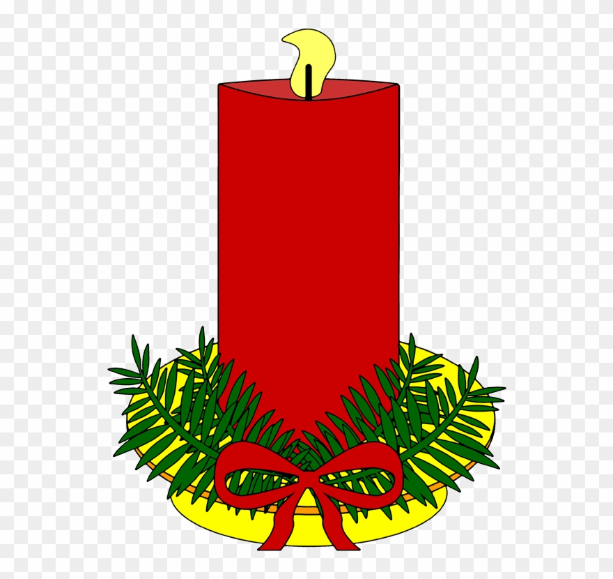 Bilder Weihnachten Clipart.Weihnachten Clipart Kostenlose Dicke Rote Kerzen Clipart Png