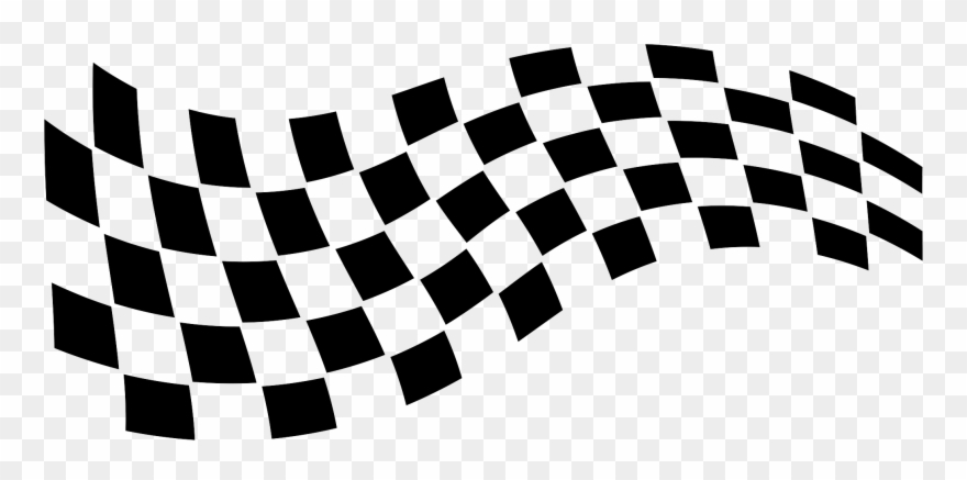 Racing Flag Vector Car Race Flag Clipart 40525