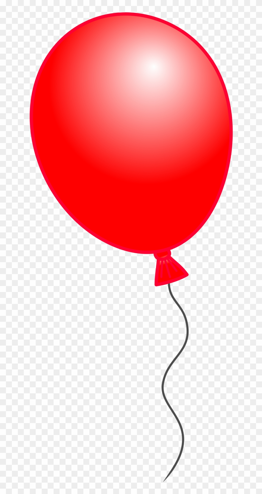 Classroom Treasures Birthday Balloons And That S Who Red Balloon Clipart Png Download 41398 Pinclipart