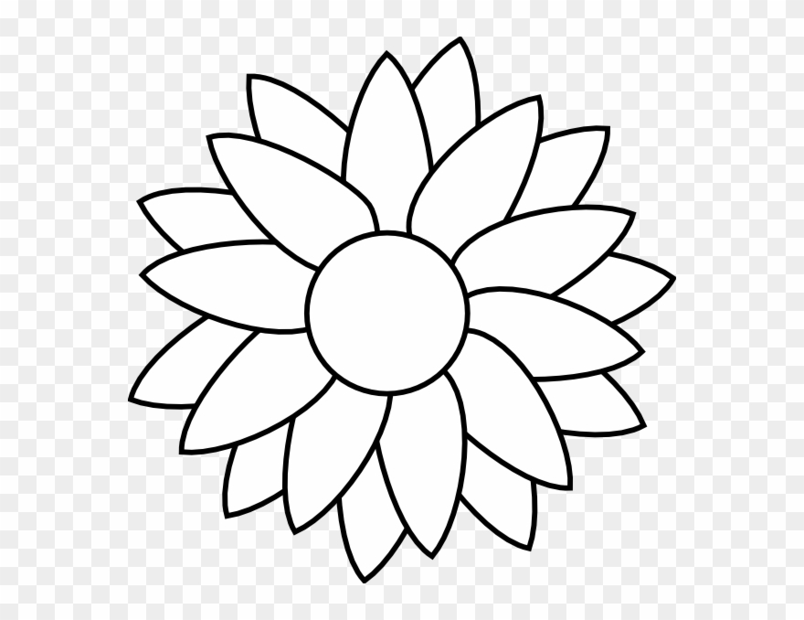 Flower Free Rhinestone Template Downloads - Sunflower Flower ...