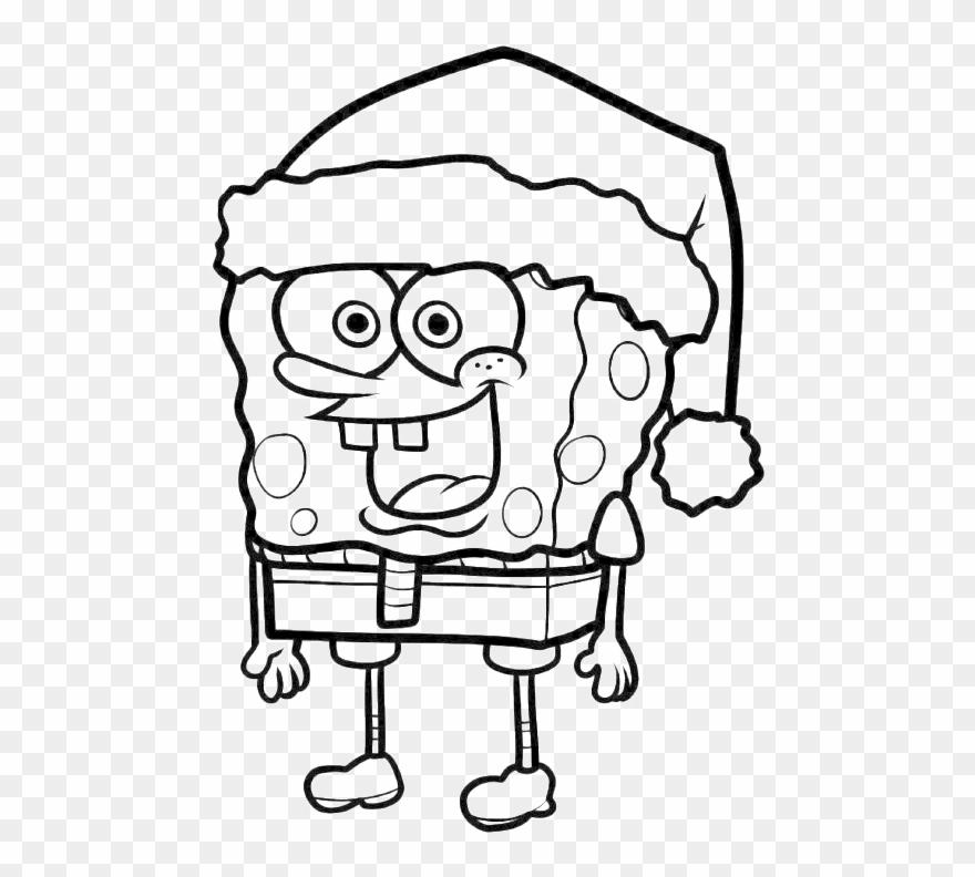 66 Spongebob Santa Coloring Pages Pictures