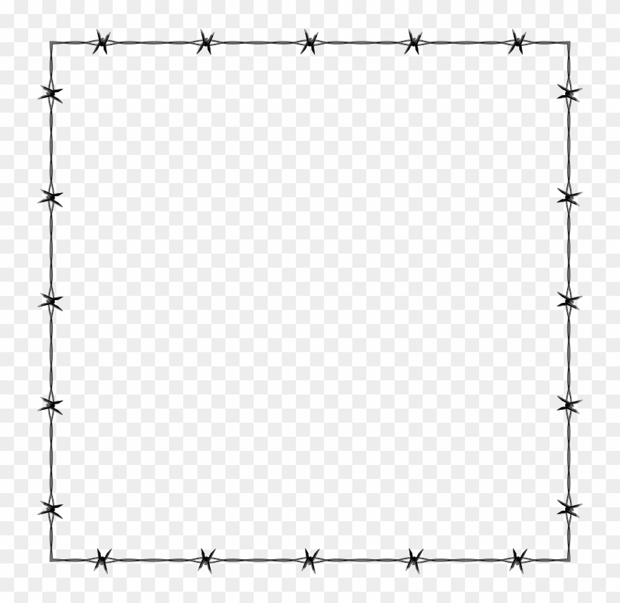 Art page. Cute border clipart drawing