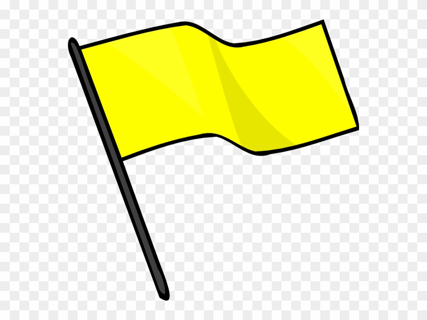 Flag yellow. Flags clipart by joe