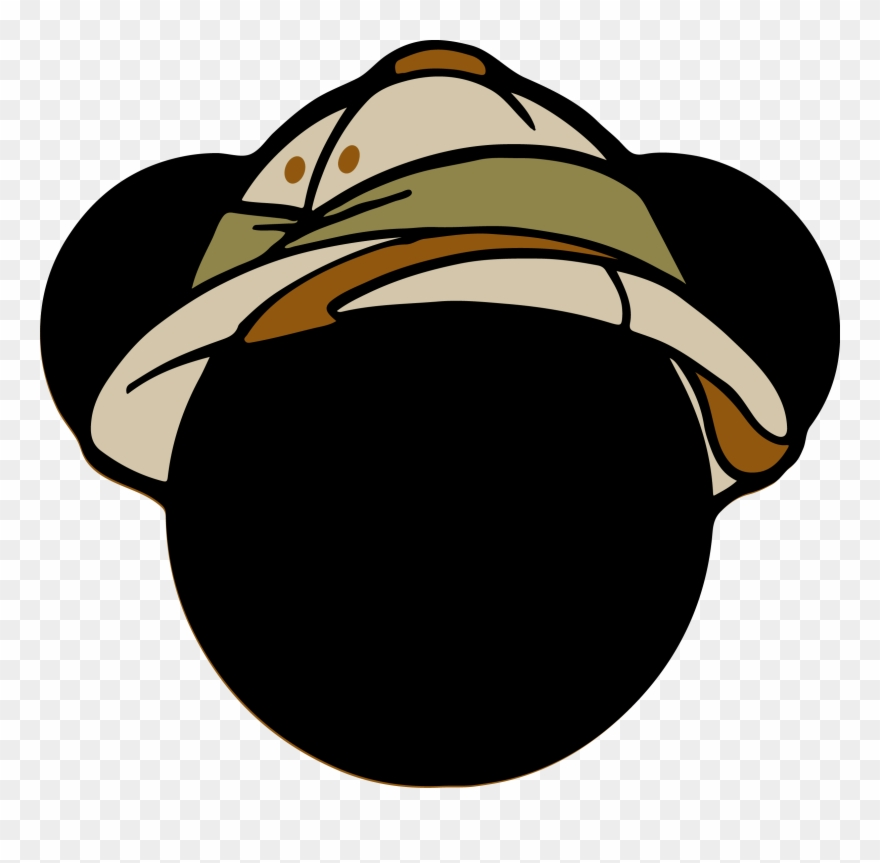 6080c24335866 Festa Mickey Safari - Mickey Safari Head Clipart ( 44720) - PinClipart