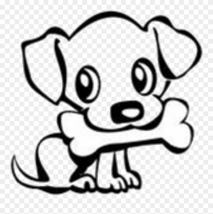 Image of: Cute Dog Dog Bone Drawings Group Banner Download Cute Dog Easy Drawing Clipart Clip Art Mag Dog Bone Drawings Group Banner Download Cute Dog Easy Drawing