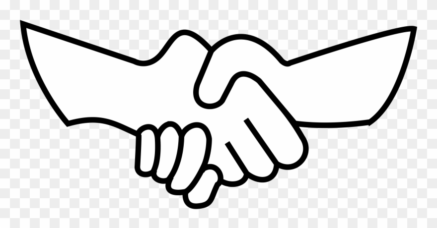 Helping Hand Black And White Clipart Clip Art Shake Hand Png Download 46107 Pinclipart Kindpng provides large collection of free transparent png images. helping hand black and white clipart