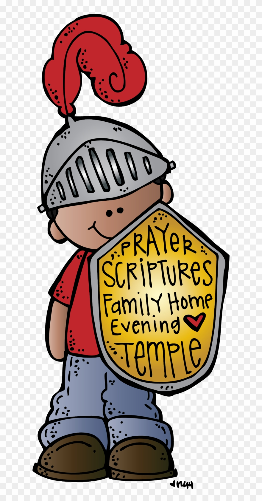 Cute Lds Cliparts Lds Armor Of God Clipart Png Download 46345