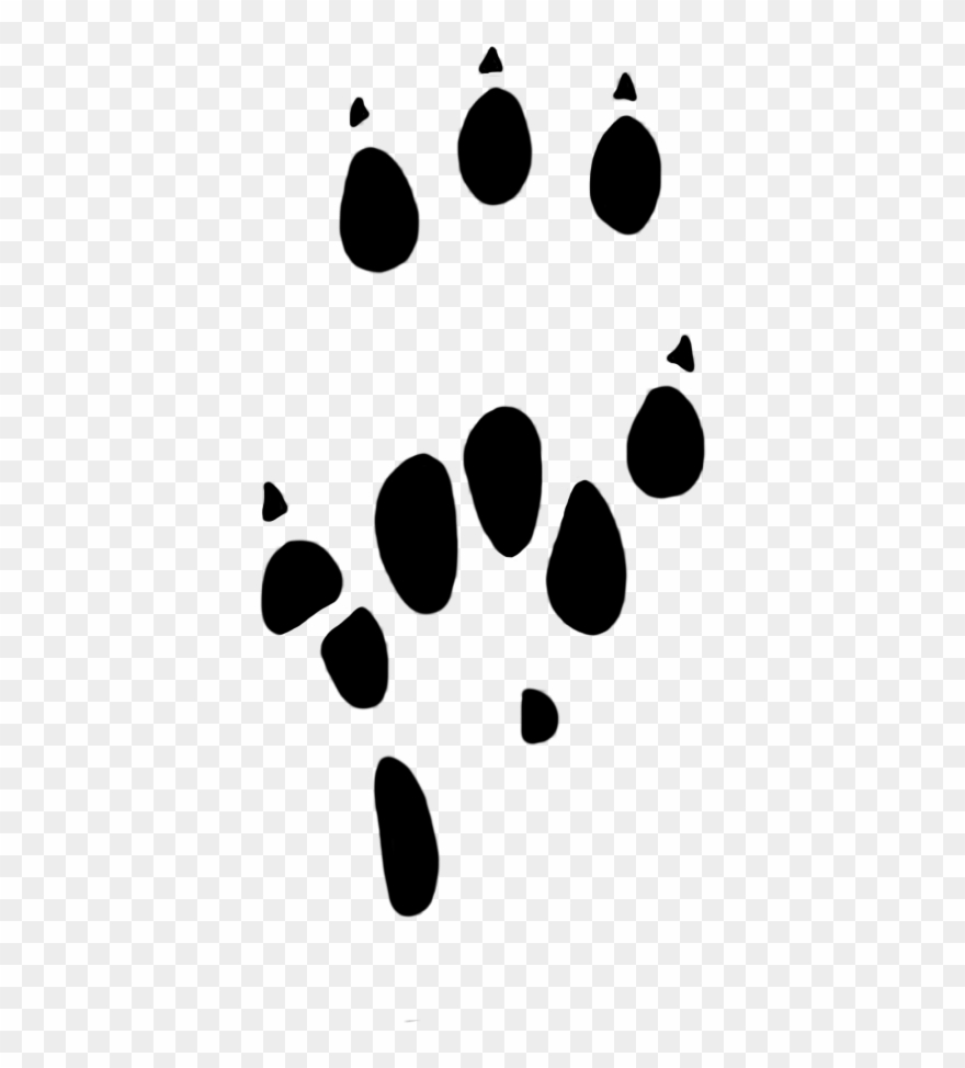 graphic regarding Printable Paw Print known as Down load Cost-free Printable Clipart And Coloring Webpages - Rat Paw
