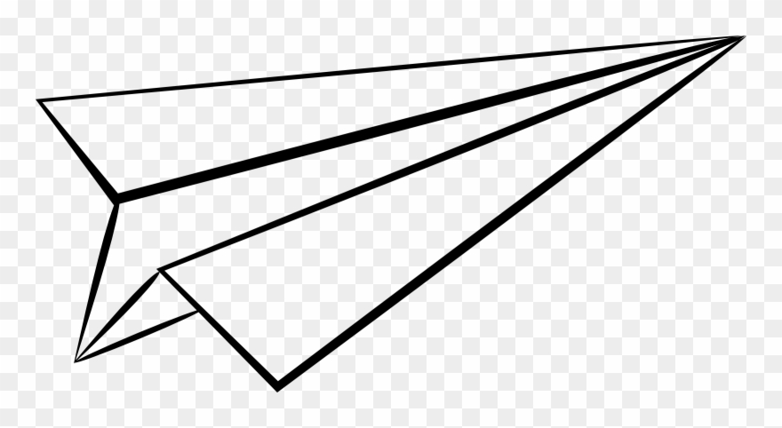 Airplane Clip Art Spamcoloringpages Paper Airplane No Background