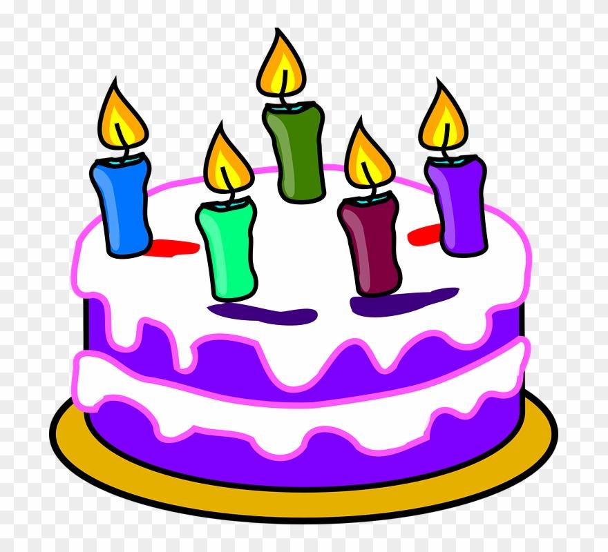 Geburtstagstorte Kuchen Kerzen